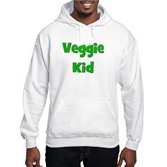 Veggie Kid - Green Hoodie