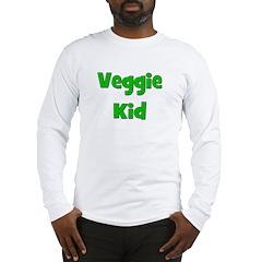 Veggie Kid - Green Long Sleeve T-Shirt