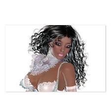 Black girl Postcards (Package of 8)