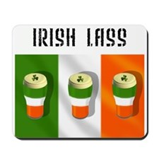 Irish Lass (Girl) Gift Mousepad