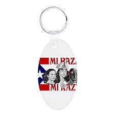 NEW!!! MI RAZA FOR WOMEN.jpg Keychains