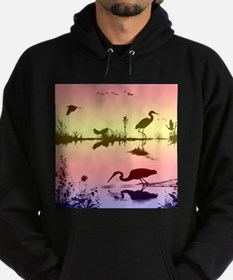 morning on the lake Hoodie