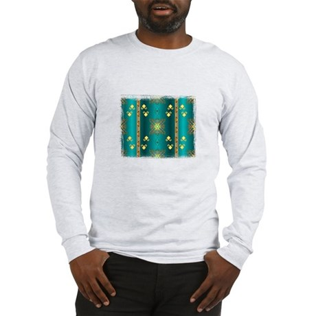 Sun In Winter Blanket Design Long Sleeve T-Shirt