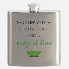 Salt and Lime Flask