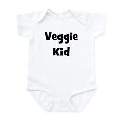 Veggie Kid - Black Infant Bodysuit
