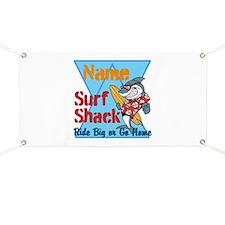 Custom surf shack Banner