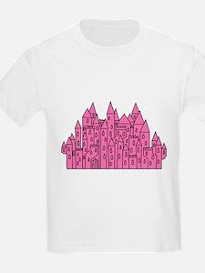 Pink Castle. T-Shirt