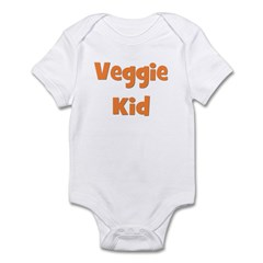Veggie Kid Orange Infant Bodysuit