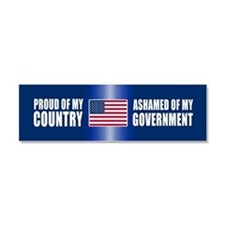 Cute Patriotism bush Car Magnet 10 x 3