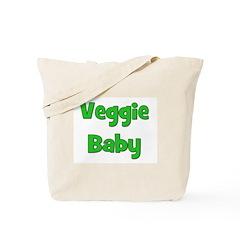 Veggie Baby Green Tote Bag