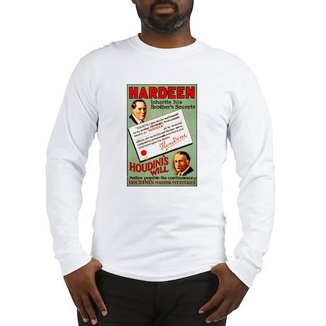 Hardeen The Magician Long Sleeve T-Shirt