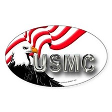 USMC Oval Decal