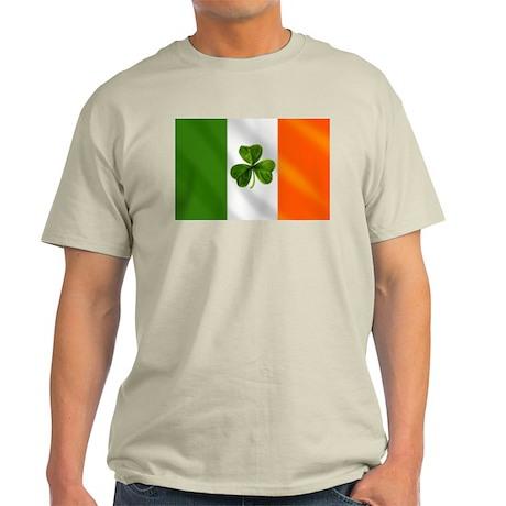 Irish Shamrock Flag Light T-Shirt