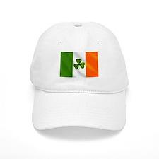 Irish Shamrock Flag Baseball Baseball Cap