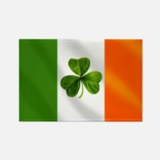Irish Shamrock Flag Rectangle Magnet