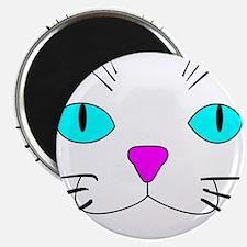 cat face Magnet