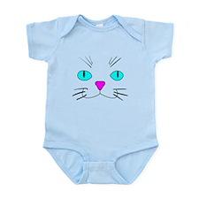 cat face Body Suit