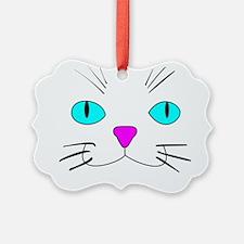 cat face Ornament