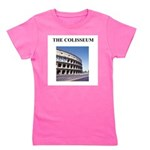 colisseum rome italy gifts Girl's Tee