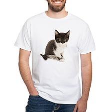 Cute Tuxedo Kitten T-Shirt
