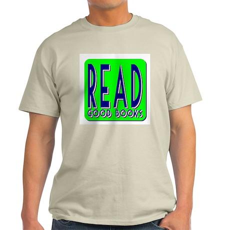 Read Good Books Ash Grey T-Shirt