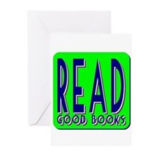 Read Good Books Greeting Cards (Pk of 10)