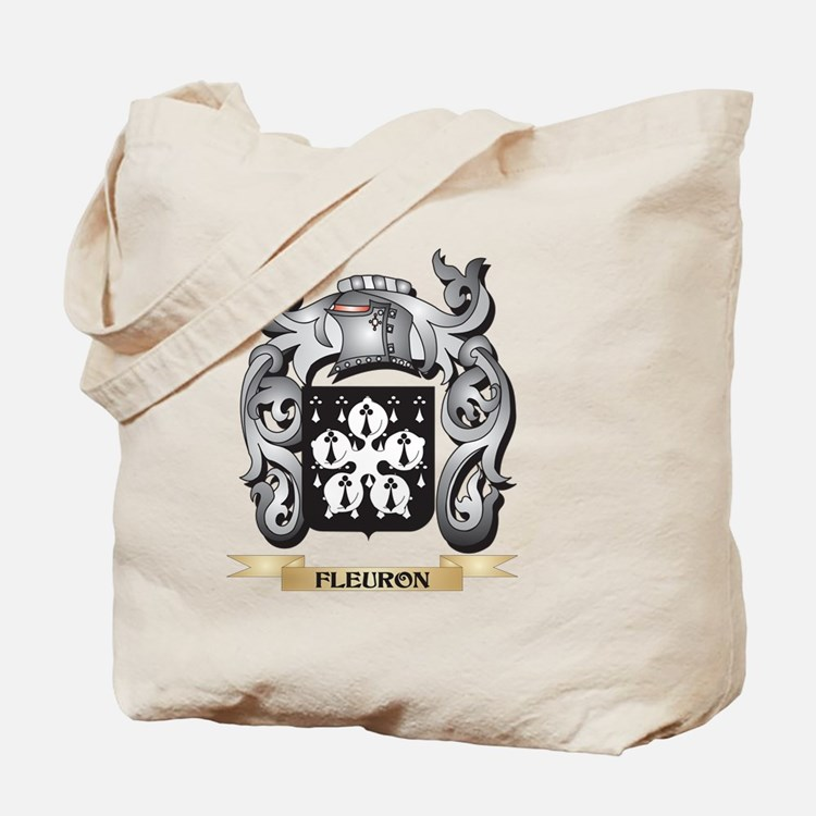 Fleuron Coat of Arms - Family Crest Tote Bag