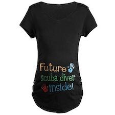 Scuba Diver Maternity T-Shirt