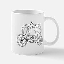Black Fantasy Carriage. Mug