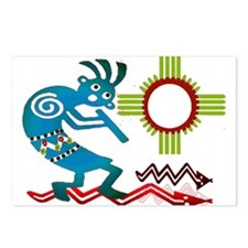 Kokopelli in the Sun Postcards (Package of 8)