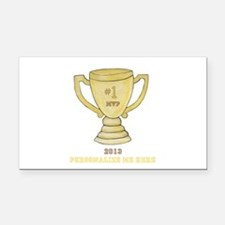 Personalized Trophy Rectangle Car Magnet