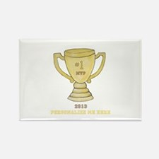 Personalized Trophy Rectangle Magnet