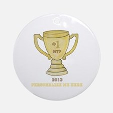 Personalized Trophy Ornament (Round)
