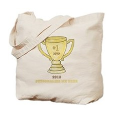 Personalized Trophy Tote Bag