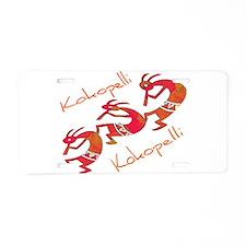 Kokopelli Aluminum License Plate