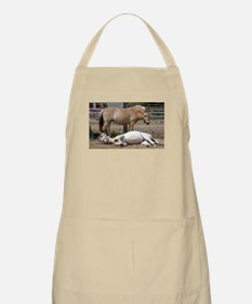 """Fjord mare & foal"" BBQ Apron"