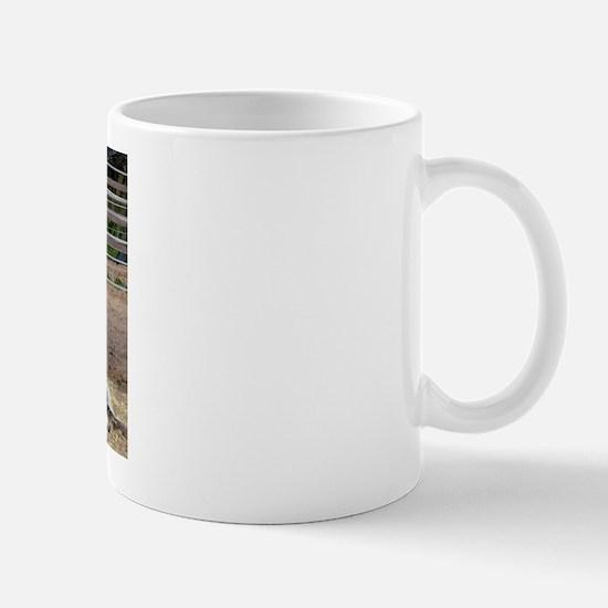 """""""Fjord mare & foal"""" Mug"""