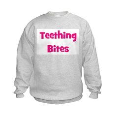 Teething Bites! Pink Sweatshirt