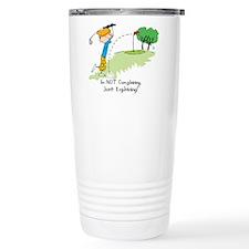 Golf Slice Travel Mug