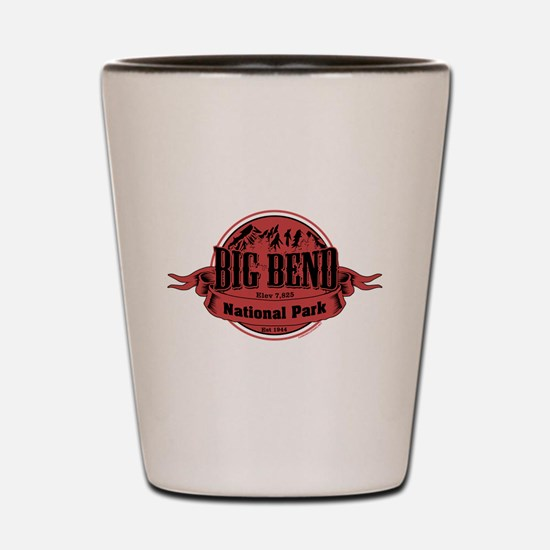 big bend 2 Shot Glass