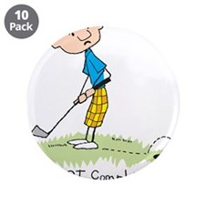 """Missed Putt 3.5"""" Button (10 pack)"""