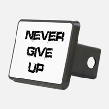 Never Give Up Hitch Cover