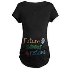 Swimmer Maternity T-Shirt