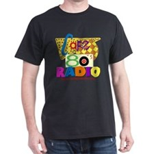 Cafe 80s Radio T-Shirt