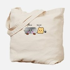 Toaster and Toast Tote Bag