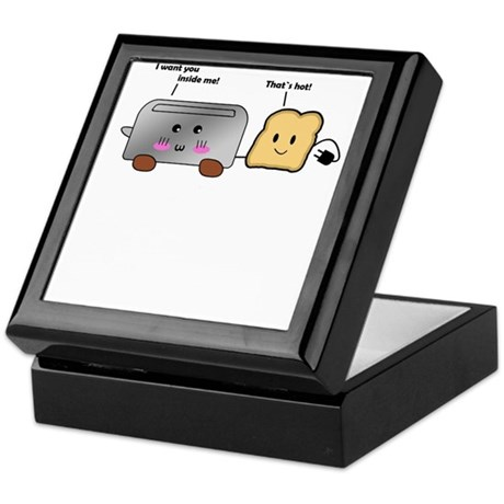 Toaster and Toast Keepsake Box