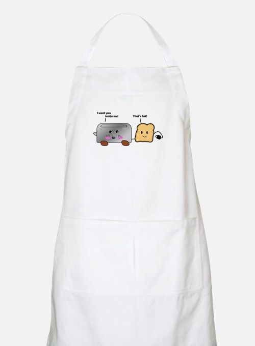 Toaster and Toast Apron