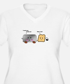 Toaster and Toast Plus Size T-Shirt