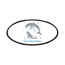 Personalized Dolphin Patches