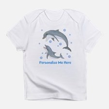 Personalized Dolphin Infant T-Shirt